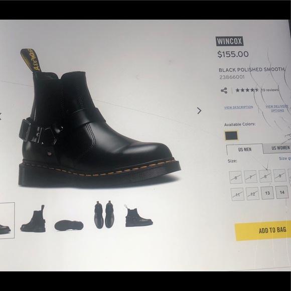 ff841234602 Dr. Martens Shoes   Dr Marten Wincox Sz 11 Men Condition 910   Poshmark
